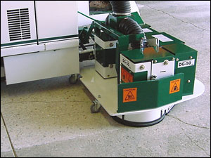 Concrete Garage Grinding Example