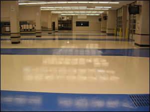 Concrete Epoxy Floor Coating Installers