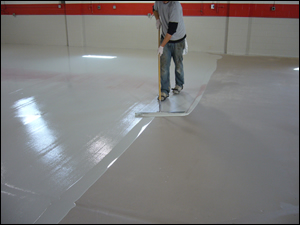 Epoxy Squeegee Application