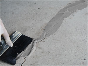 Patching Amp Repairing Concrete Floor Slabs